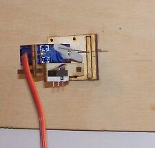 0 / 00 / HO / 009 / N Gauge Point Servo Bracket Finescale Laser Cut Kit     Peco