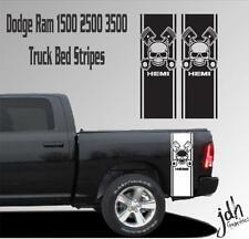 Dodge Ram 1500 2500 3500 Truck Bed Stripe Vinyl Decal Sticker Hemi Skull Mopar