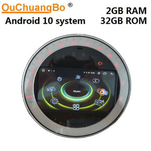 Ouchuangbo car radio gps for mini cooper R55 R56 R57 clubman S one android 10.0