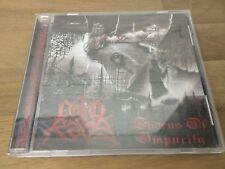 Lord Kaos Thorns Of Imourity Australian Black Metal Rare Cd