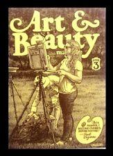 ART & BEAUTY MAGAZINE #3, 2016, FANTAGRAPHICS, ROBERT CRUMB, UNDERGROUND COMIC