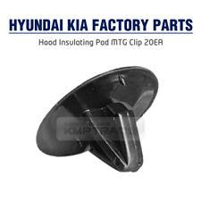 Hood Insulating Pad Mounting Clip 20EA Factory Parts for HYUNDAI KIA Vehicle