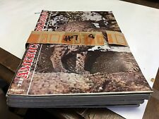 THE AMERICAN RIFLEMAN MAGAZINE 1962 VINTAGE LOT OF 8 AMERICAN RIFLEMAN MAGAZINE