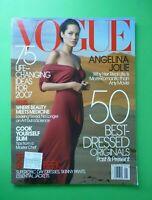 Vogue US January 2007 Angelina Jolie Elise Crombez Sasha Pivovarova Lisa Cant