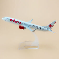 16cm Airplane Model Plane Lion Air Boeing 737 B737 900 Airlines Aircraft Model