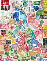 150 Different German Stamps from Large Collection