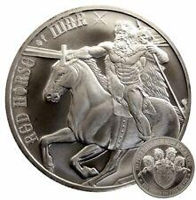 ++ Four Horsemen - Red Horse of War - 1oz Ag ++