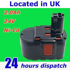 24V 2.0Ah battery for Bosch 24 volt PSB 24VE-2 BTP1005 cordless drill
