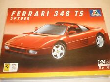 A Italeri un-built plastic kit of a  Ferrari 348 TS, Spider, boxed