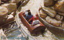 Postcard Log Flume Ride Canobie Lake Park Salem NH