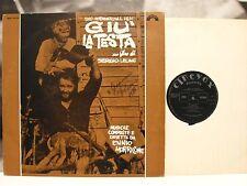 GIU LA TESTA - ENNIO MORRICONE LP VG+ PRIMA STAMPA DEEP GROOVE CINEVOX MDF 33/50