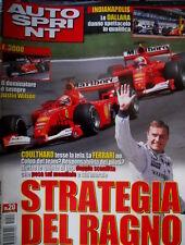 Autosprint 20 2001 Le Dallara danno spettacolo in qualifica. F3000 domina Wilson