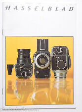 Hasselblad Camera System Sales Brochure Pamphlet Book - Yellow English - USED