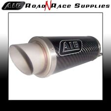 Kawasaki ZX6R ZX636 2003-2004 A16 MOTO GP Carbon Stubby Exhaust with Link Pipe
