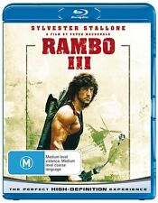 Rambo 3 (Blu-ray, 2008) Sylvester Stallone New and Sealed