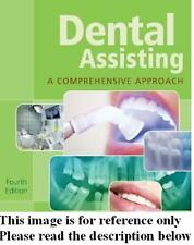 Dental Assisting +CD-ROM 4th NEW Int'l Ed. US Delivery 3-4 bus days/Insurance
