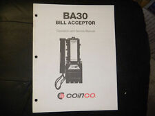 Coinco Ba30 Bill Acceptor Operation and Service Manual