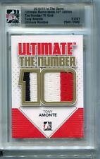10/11 ITG ULTIMATE The Number Tony Amonte Gold 1/1