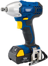 """DRAPER Expert 18V Cordless 1/2"""" Sq. Dr. Impact Wrench With LI-ION Battery 