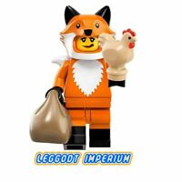 LEGO Minifigure Series 19 -Fox Costume Girl - minifig col19-14 FREE POST