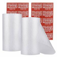 """enKo Bubble Cushioning Wrap Roll 3/16"""" for Moving (2 Rolls, Total: 12 x 60 ft) P"""