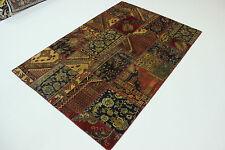 look antique moderne Patchwork délavé PERSAN TAPIS tapis d'Orient 2,45 x 1,65