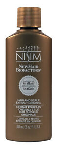 Nisim Hair Growth Treatment Stimulating Extract Tonic with Anagain oily scalp