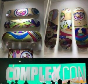 Murakami Complexcon - Face Eyes Mouth - Dobtopus - Skate Deck Set of 6 Complete!