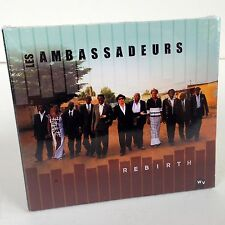 REBIRTH by LES AMBASSADEURS CD Album NEW Music THE AMBASSADORS with SALIF KEITA!