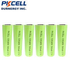 6 X 18650 Battery 3.7V 3000mAh  Lithium Rechargeable Vape Mod Batteries PKCELL