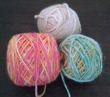 Lot 3 Knitting Yarn Kochoran Lornas Laces Winona 508 Cashmere Wool Angora Silk