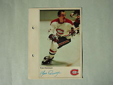 1971/72 TORONTO SUN NHL ACTION HOCKEY PHOTO YVAN COURNOYER SHARP!! TORONTO SUN