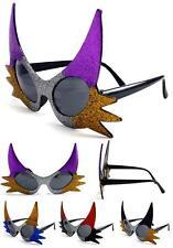 2 pair CAT EYE NOVELTY PARTY GLASSES sunglasses #279 men ladies NEW unusual FUN