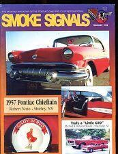 Smoke Signals Magazine February 1998 1957 Chieftan EX ML On Back 011617jhe