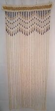 HANDMADE Wooden beaded Curtain doorway door room window divider wood beads