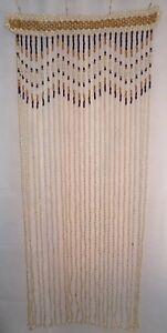 HANDMADE Wooden beaded Curtain doorway door room window divider wood beads
