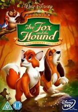 THE FOX AND THE HOUND DISNEY DVD - GOLD OVAL NUM - BRAND NEW SEALED - UK RELEASE
