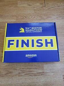 2020 Boston Marathon Medal And Completion Box