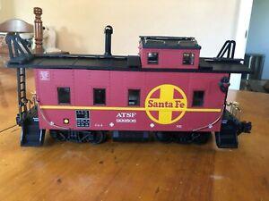 Aristo Craft Trains - 1:29 Scale - LGB-1 Gauge ATSF/Santa Fe Caboose - Long Stee