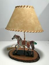 """Trail of the Painted Ponies  LAMP -  9"""" Tall Copper Enchantment Table Lamp NEW"""