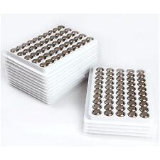 10 X Knopfbatterien AG13/LR44 Knopfzellen Uhrenbatterien Knopf Zellen Neu