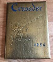 1956 St. Paul's School Crusader Yearbook Brooklandville Maryland