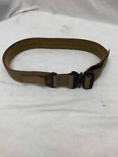 Eagle Industries Operator Gun Belt Cobra Buckle V-Ring Coyote Small