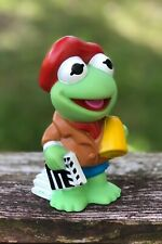 Rare Vintage 1989 Baby Kermit Movie Director Figure Muppets 5� Toy Gift The Frog