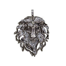 Kirks Folly Aslan Lion King Pendant (Antique Silvertone)