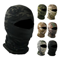 Camouflage Balaclava Face Cover Cycling Hunting Bike Helmet Liner Tactical Hat