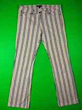 BURBERRY Plaid nova check striped Pants  Jeans 40 L UK 12 US 10 Made in Italy