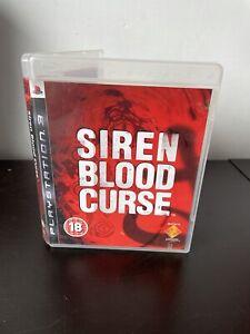 Siren Blood Curse Playstation 3 PS3