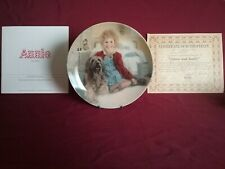'Annie And Sandy' Plate# 11222T