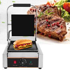 Parrilla Grill Sandwichera Plancha De Contacto Eléctrica Lisa 1800 W / 30-300 °